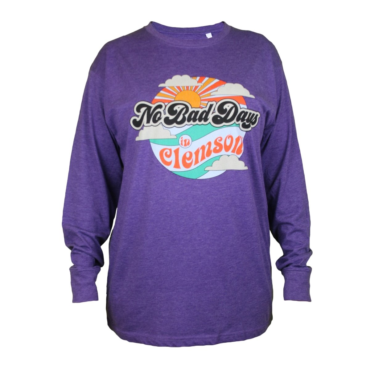 No Bad Days Long Sleeve Melange Tee - Mr. Knickerbocker