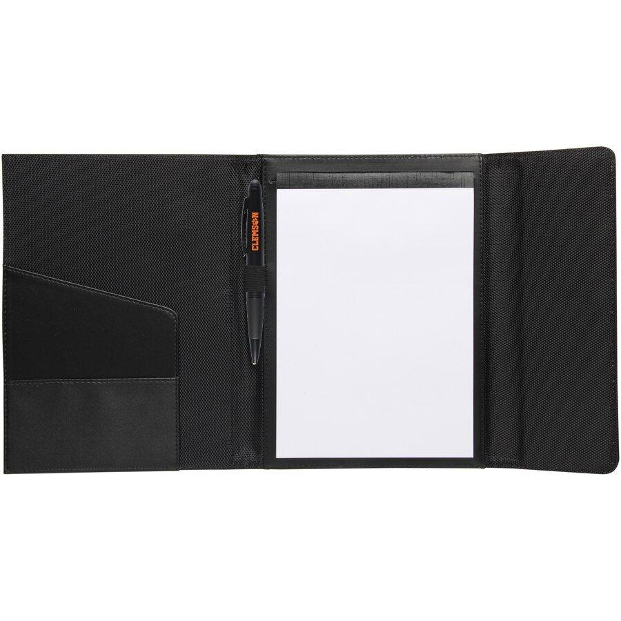 Pad/ball Point Pen Folio Set With Orange Paw 7''x9.25'' - Mr. Knickerbocker