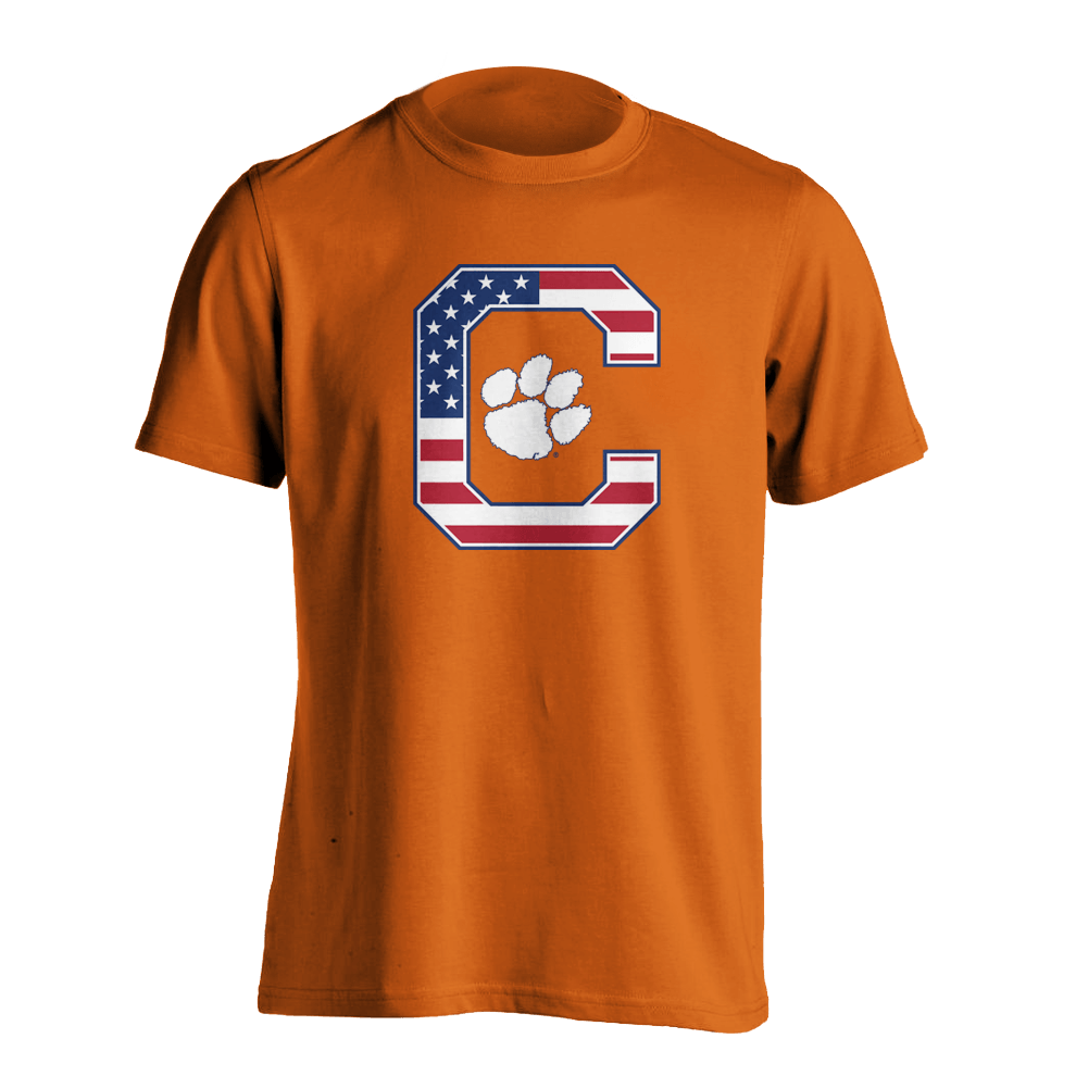 Patriotic Block C T-shirt - Mr. Knickerbocker