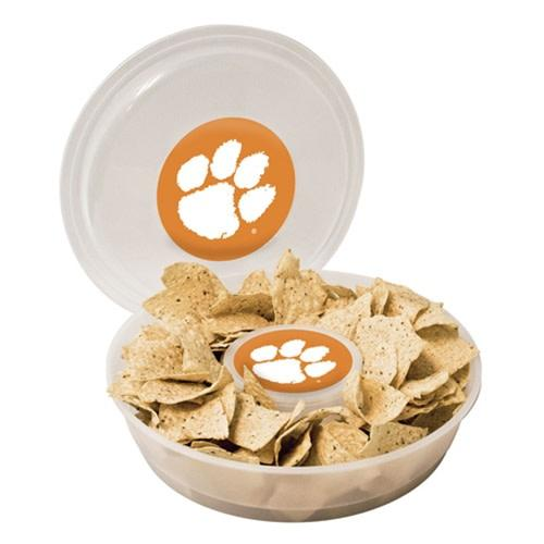 Plastic Chip and Dip Container With Lid - Mr. Knickerbocker