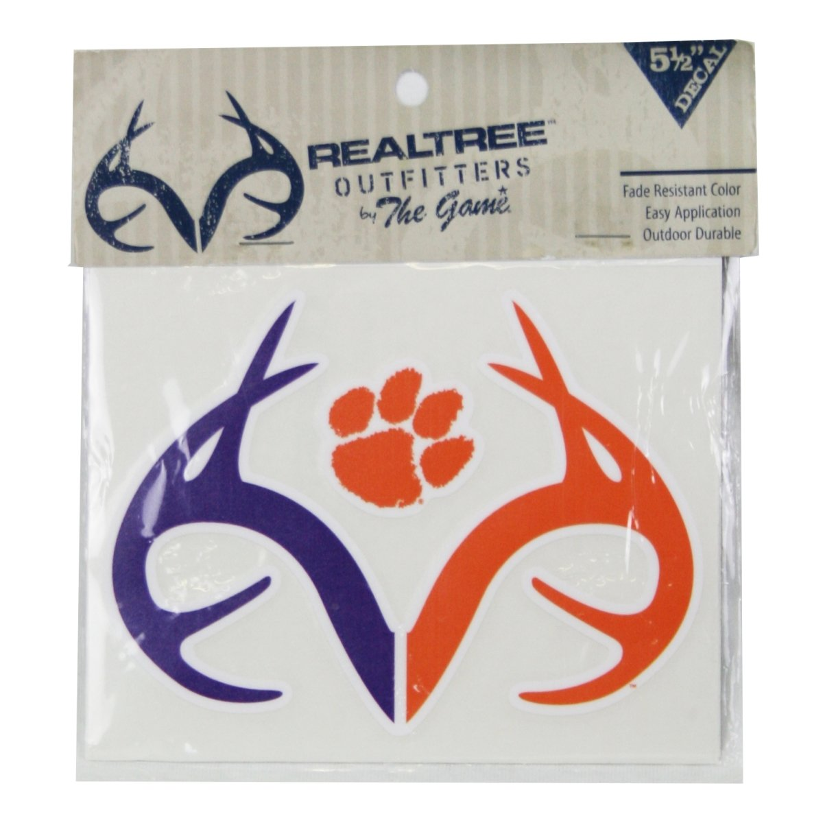 Realtree Clemson Tigers Antler Decal - Mr. Knickerbocker