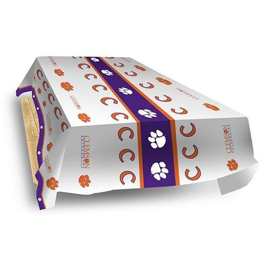 Rico Clemson Tigers Plastic Table Cover - Mr. Knickerbocker