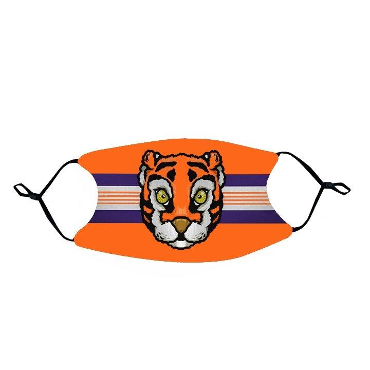 Rock 'Em Face Mask- Mascot Head - Mr. Knickerbocker