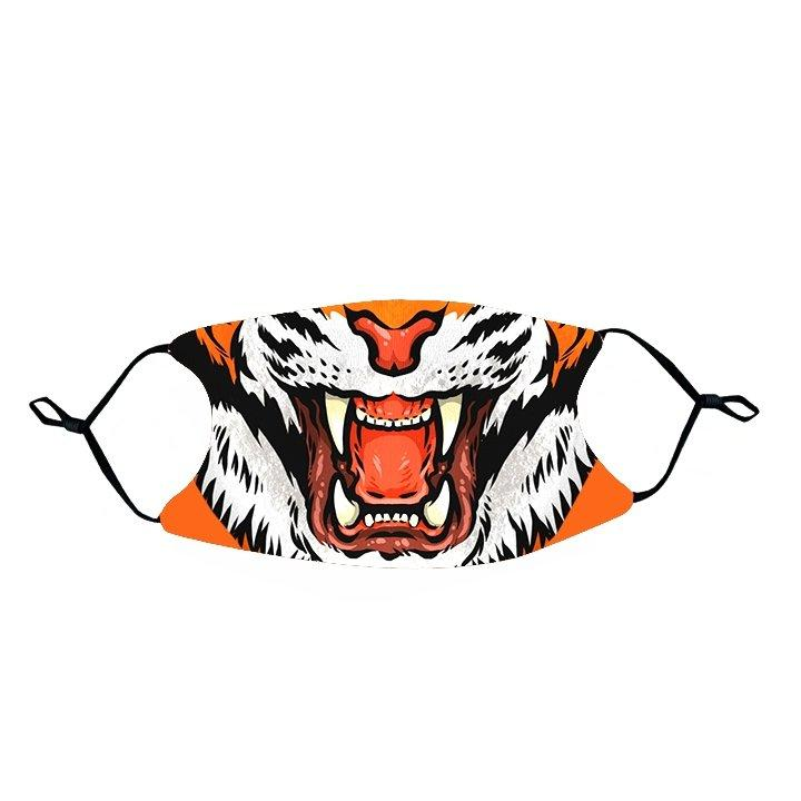 Rock 'Em Face Mask- Tiger Mouth - Mr. Knickerbocker
