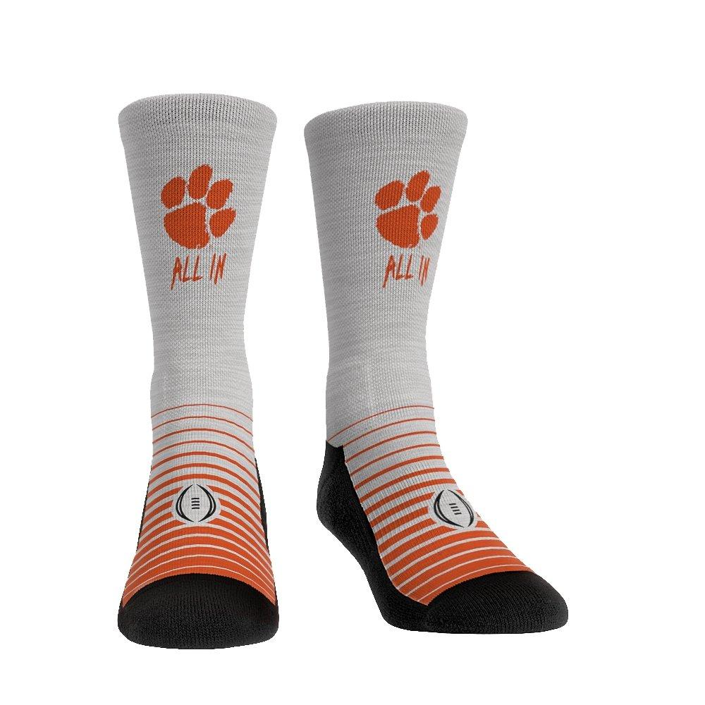Clemson Tigers Socks Downtown Crew