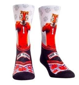 Rock 'em Socks Clemson Tigers Mascot Walkout - Crew Cut - Mr. Knickerbocker