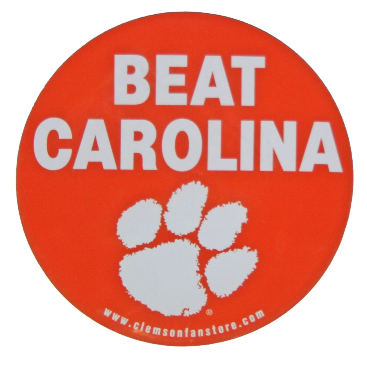 "SDS Clemson Tigers 6"" Beat Carolina Magnet - Mr. Knickerbocker"