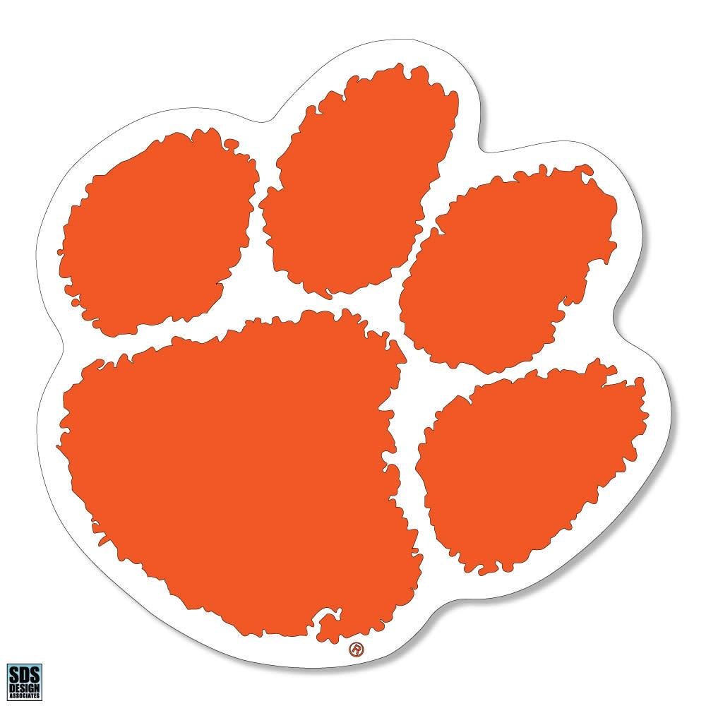 SDS Design Clemson Tiger Paw Magnet - Mr. Knickerbocker