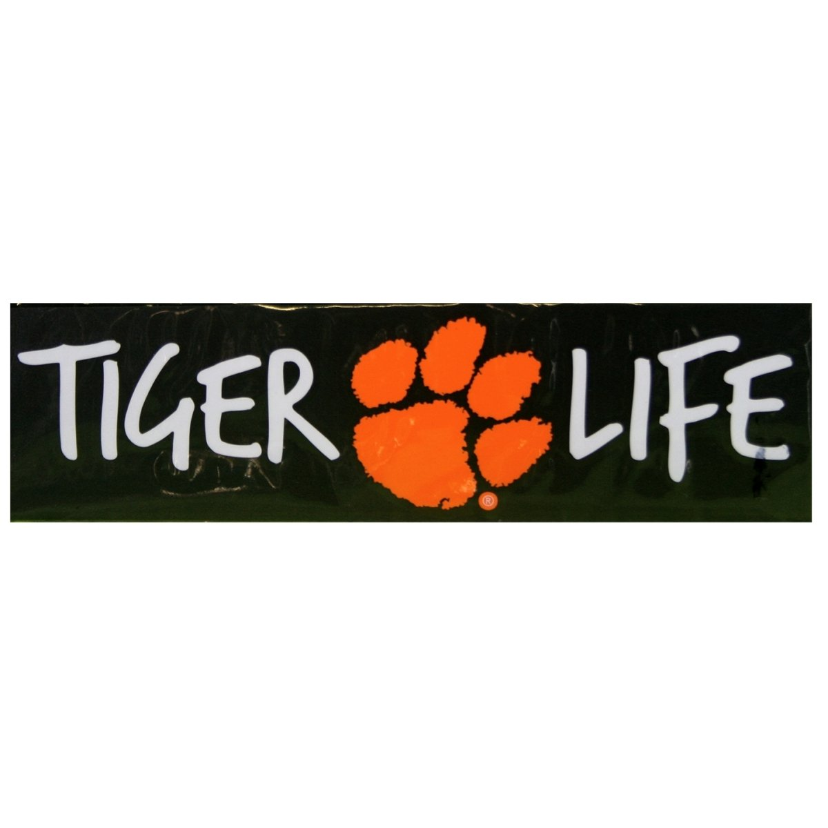 "SDS Design Clemson Tigers 10"" Tiger Life Decal - Mr. Knickerbocker"