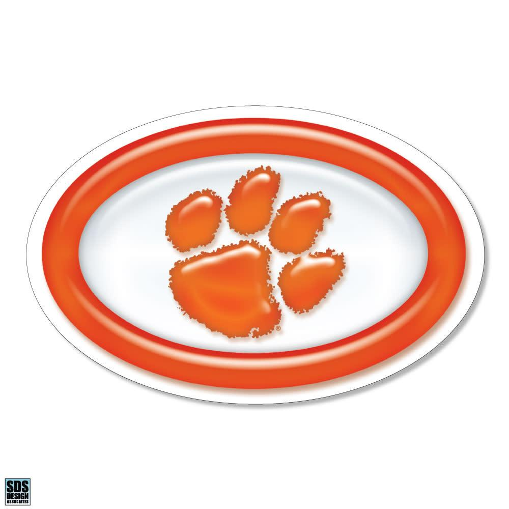 SDS Design Clemson Tigers Gellie Paw Magnet - Mr. Knickerbocker