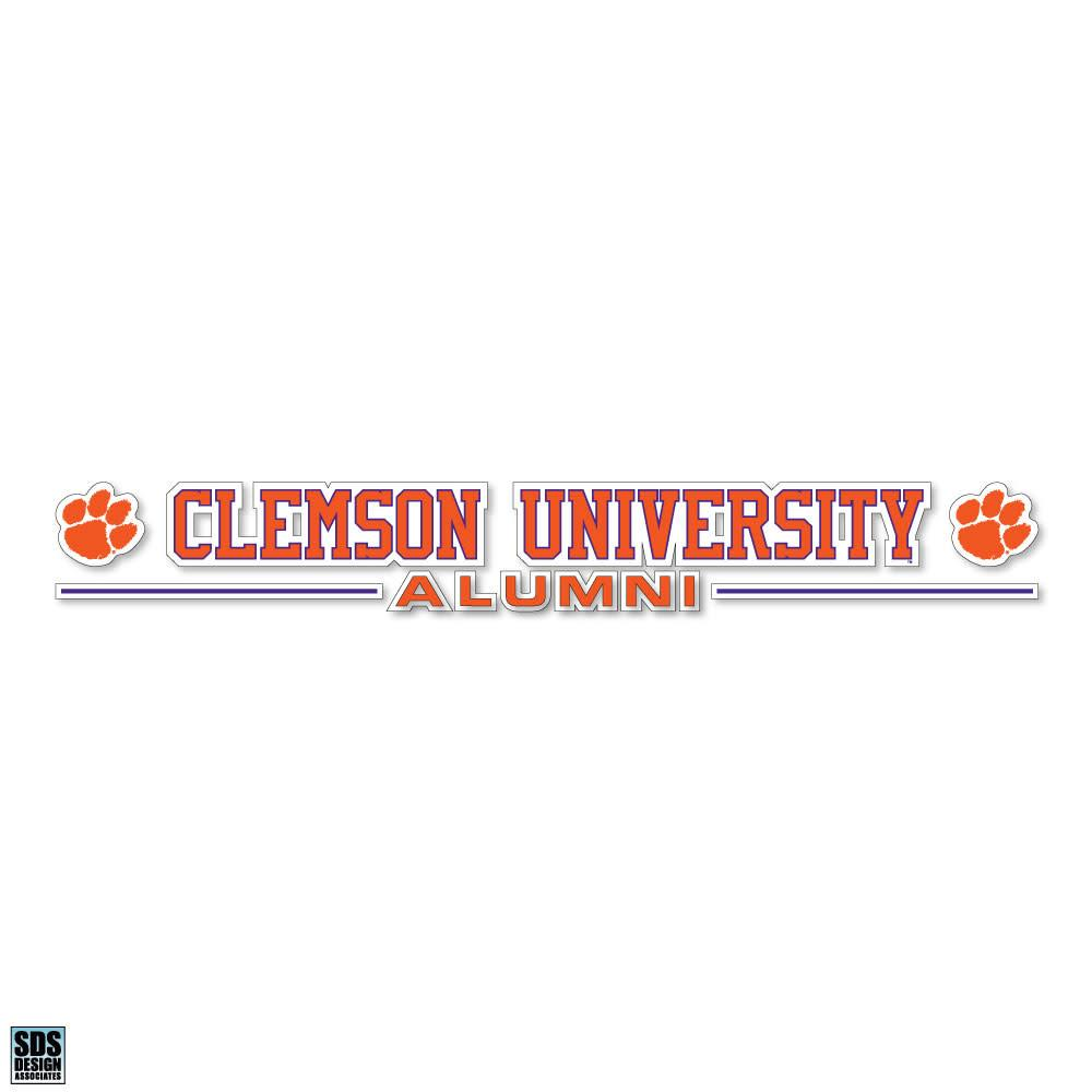 "SDS Design Clemson University 20"" Alumni Decal - Mr. Knickerbocker"