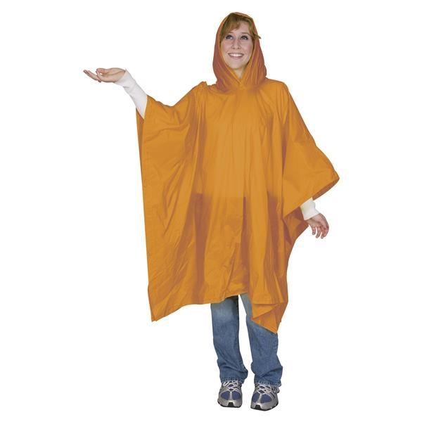 Seven Sons Orange Adult Pvc Poncho - Mr. Knickerbocker