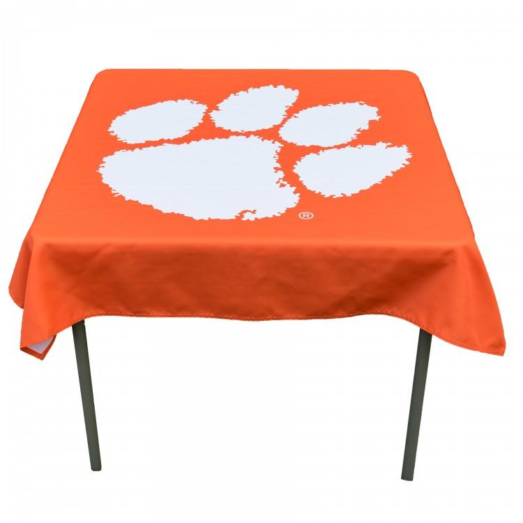 "Sewing Concepts Clemson Tigers 48"" X 48"" Table Cover - Mr. Knickerbocker"