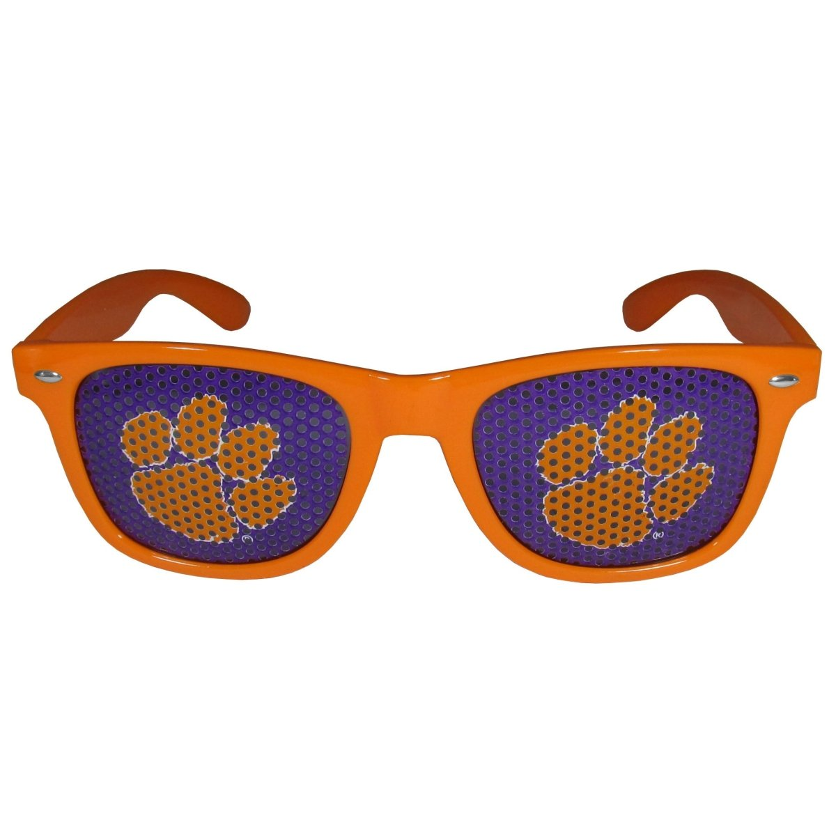 Siskiyou Clemson Tigers Gameday Sunglasses With Paw Lenses - Mr. Knickerbocker
