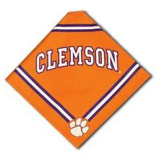 Sporty K9 Clemson Tigers Pet Bandana - Mr. Knickerbocker