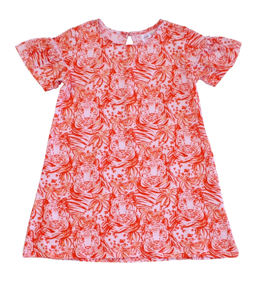 Stewart Simmons Jungle Tiger Print Girl's Dress - Mr. Knickerbocker