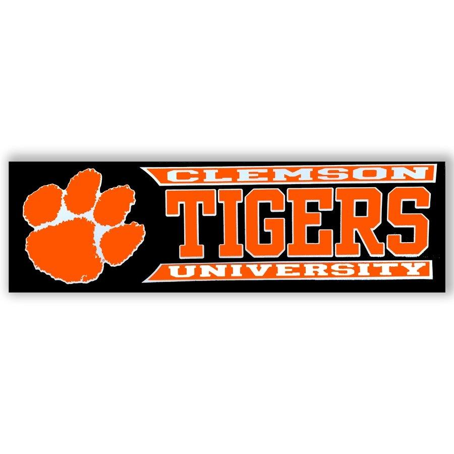 Stockdale Clemson University Tigers Window Decal - Mr. Knickerbocker