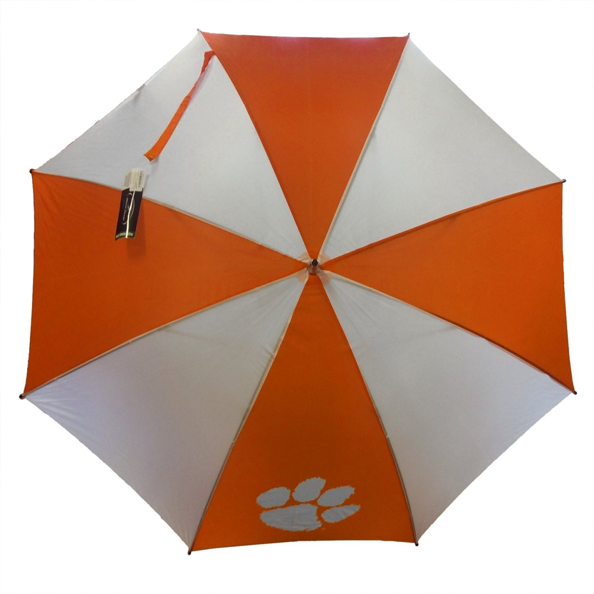 "Storm Duds Clemson Tigers 62"" Golf Umbrella - Mr. Knickerbocker"