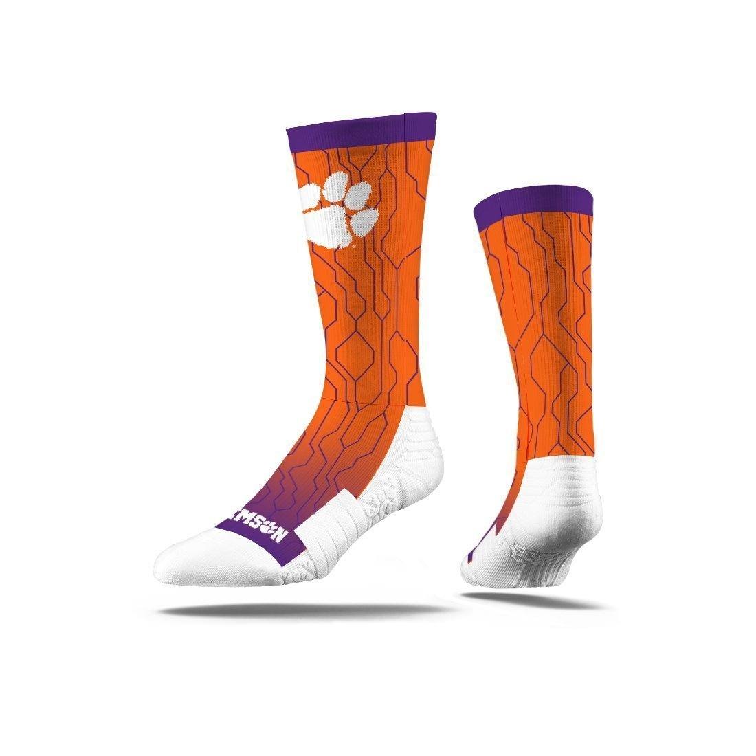 Strideline Clemson Technical Crew Socks - Mr. Knickerbocker