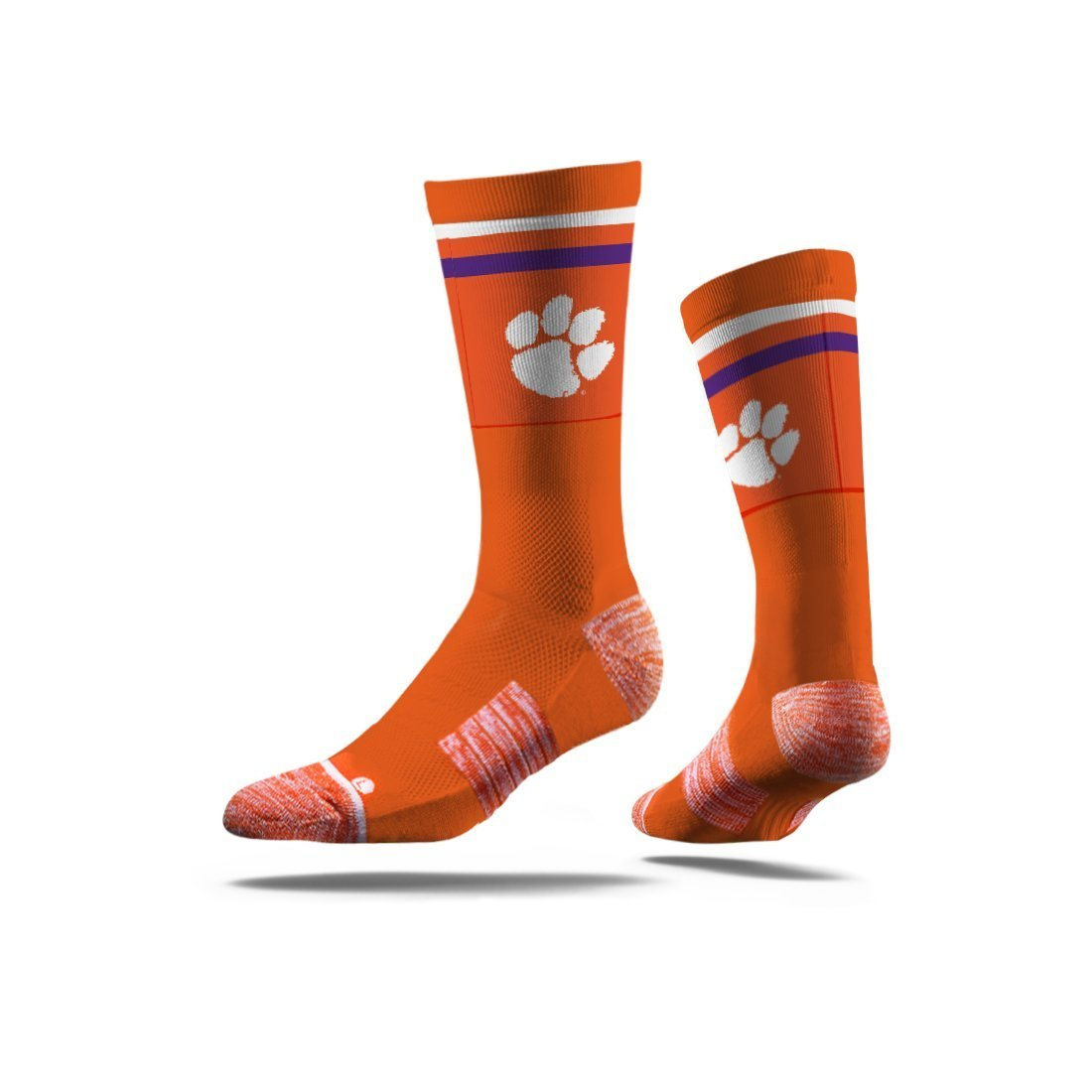 Strideline Clemson Tigers Classic Crew Socks - Mr. Knickerbocker