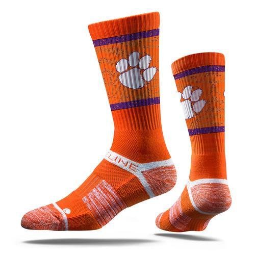 Strideline Clemson Tigers Crew Socks - Mr. Knickerbocker