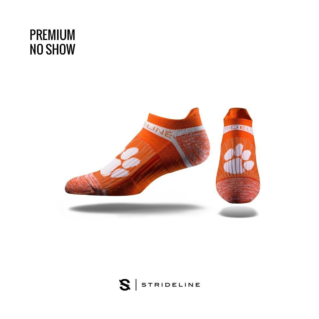 Strideline Clemson Wings Low Cut Socks - Mr. Knickerbocker