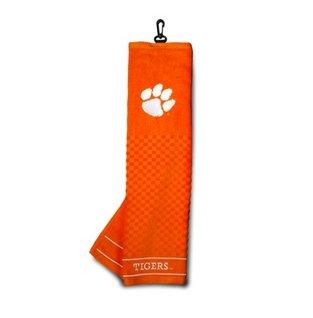 Team Golf Usa Clemson Tigers Embroidered Golf Towel - Mr. Knickerbocker