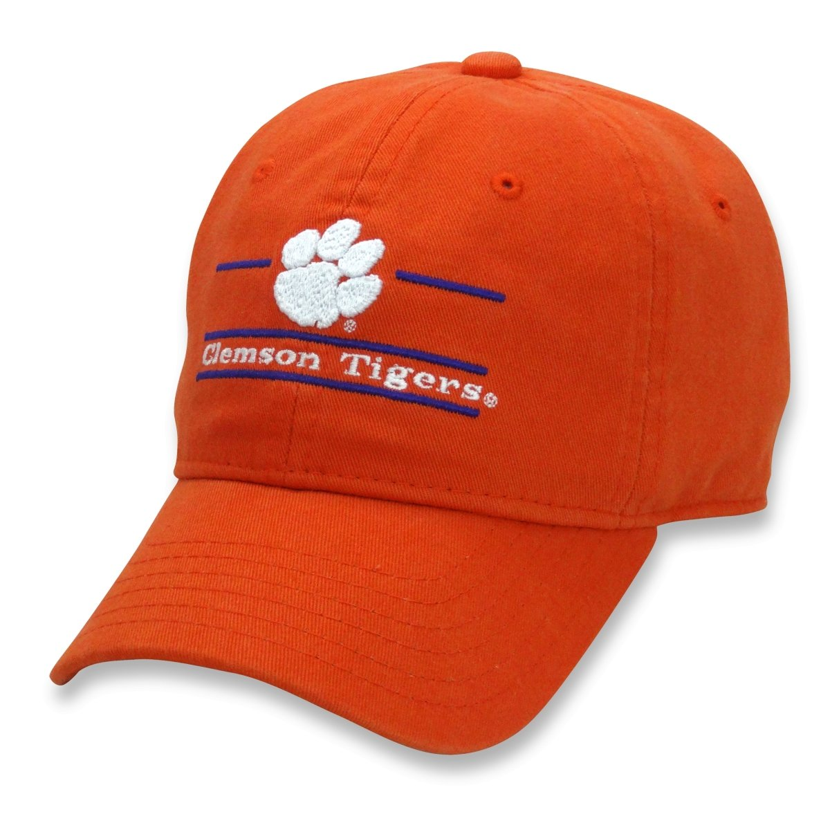 The Game Clemson Tigers Split Bar Adjustable Dad Hat - Mr. Knickerbocker