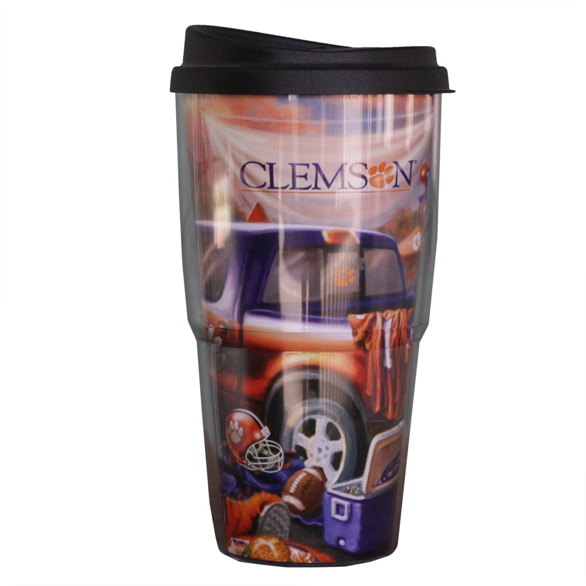Thermo Serv Clemson Tigers Double Wall Tailgate Tumbler - 24oz. - Mr. Knickerbocker