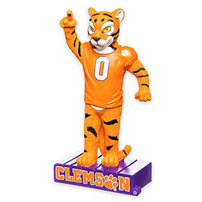 Tiger House Decoration Purple Clemson Base - Mr. Knickerbocker