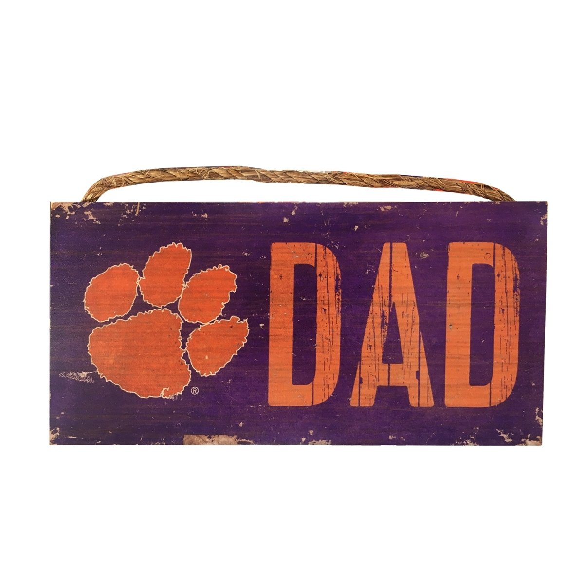 Tiger Paw Dad Sign - Mr. Knickerbocker