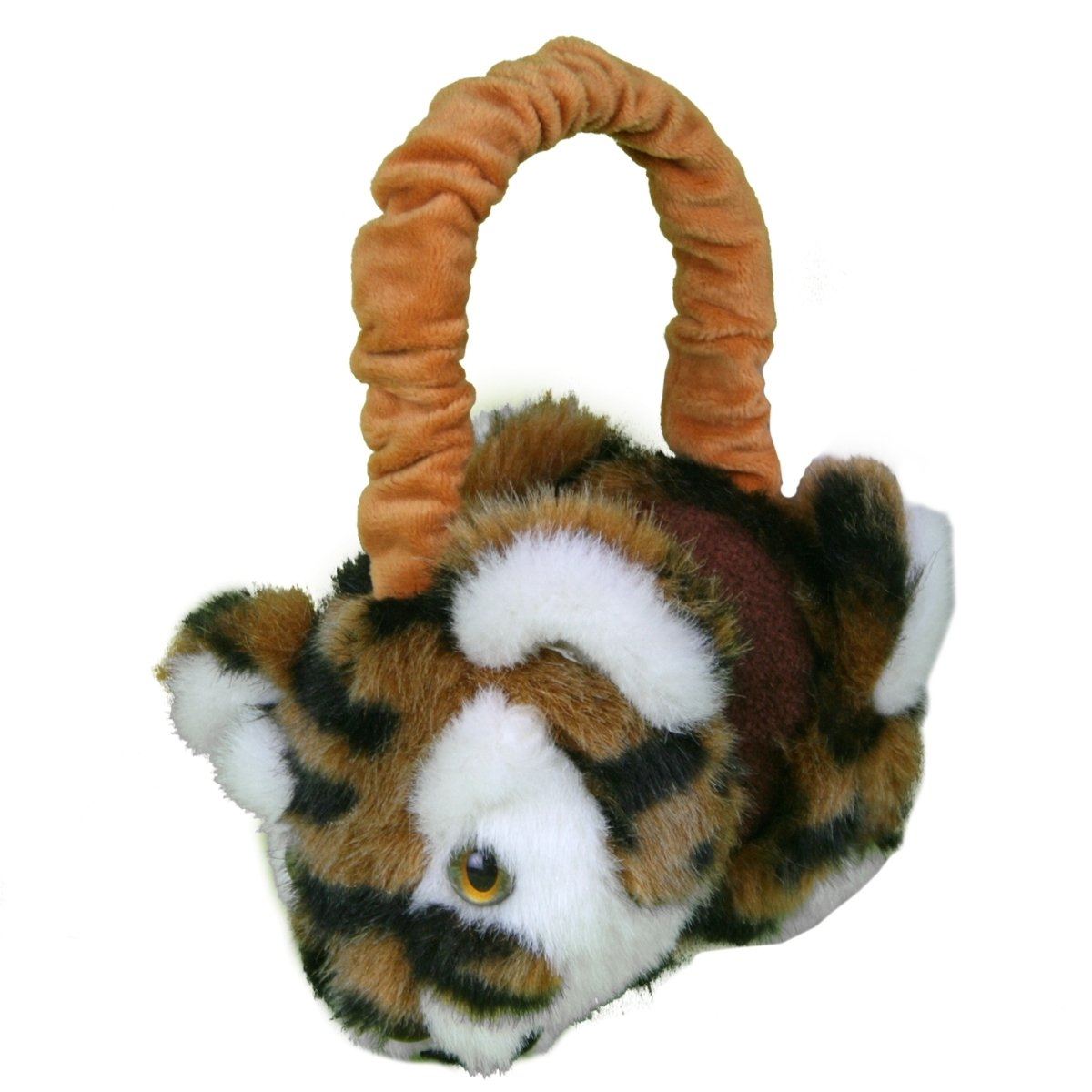 Tiger Plush Earmuffs - Mr. Knickerbocker