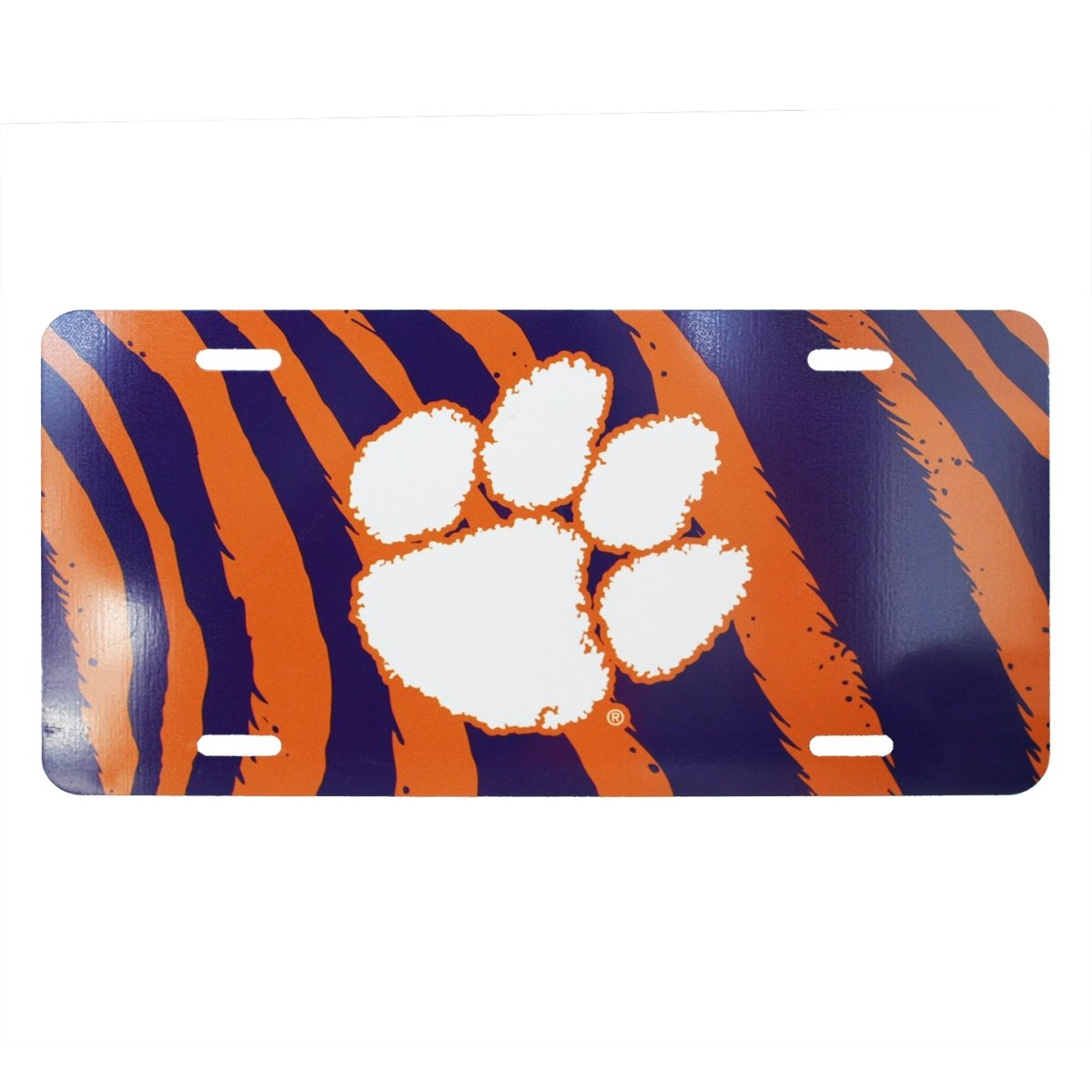 Tiger Stripe Metal Car Tag - Mr. Knickerbocker
