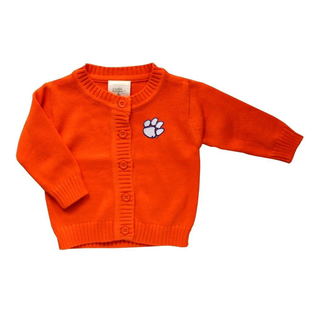 Toddler Cardigan With White Paw Purple Outline - Mr. Knickerbocker