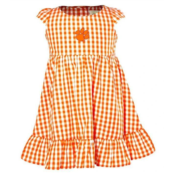 Toddler Gigi Gingham Dress With Paw - Mr. Knickerbocker