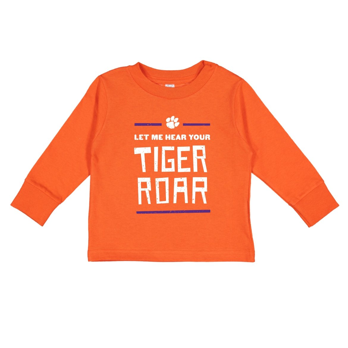 Toddler Long Sleeve Tee Let Me Hear Your Tiger Roar - Mr. Knickerbocker