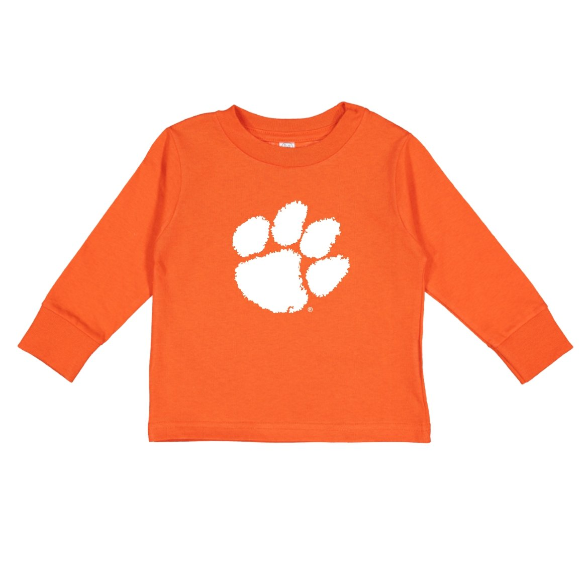 Toddler Long Sleeve Tee With White Paw - Mr. Knickerbocker