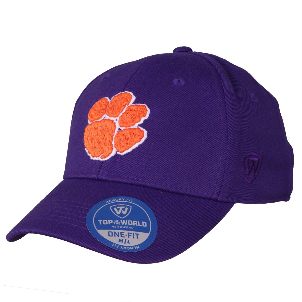 Top of the World Clemson Classic Purple Flex Fit Hat - Mr. Knickerbocker