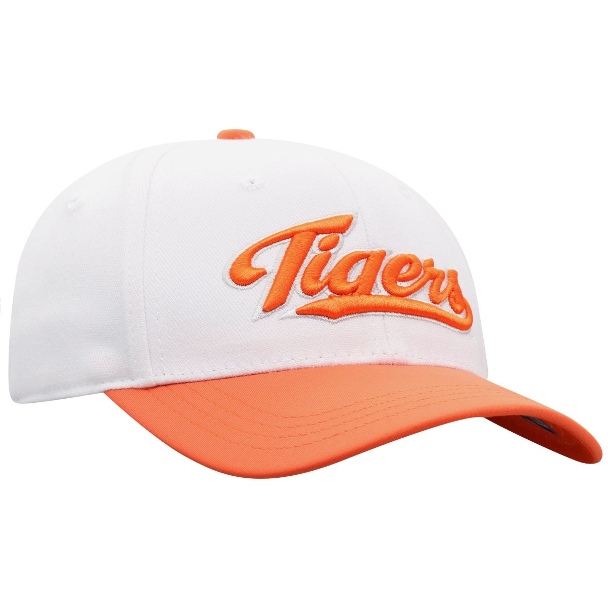 Top of the World Clemson Infield Cap With Tigers Script - Mr. Knickerbocker