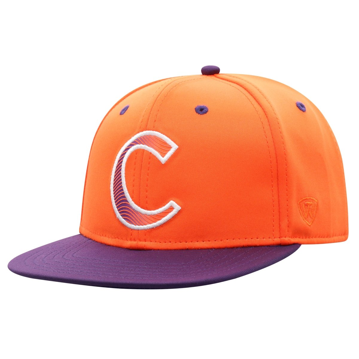 "Top of the World Clemson ""phase C"" Youth 2-tone Snapback - Mr. Knickerbocker"