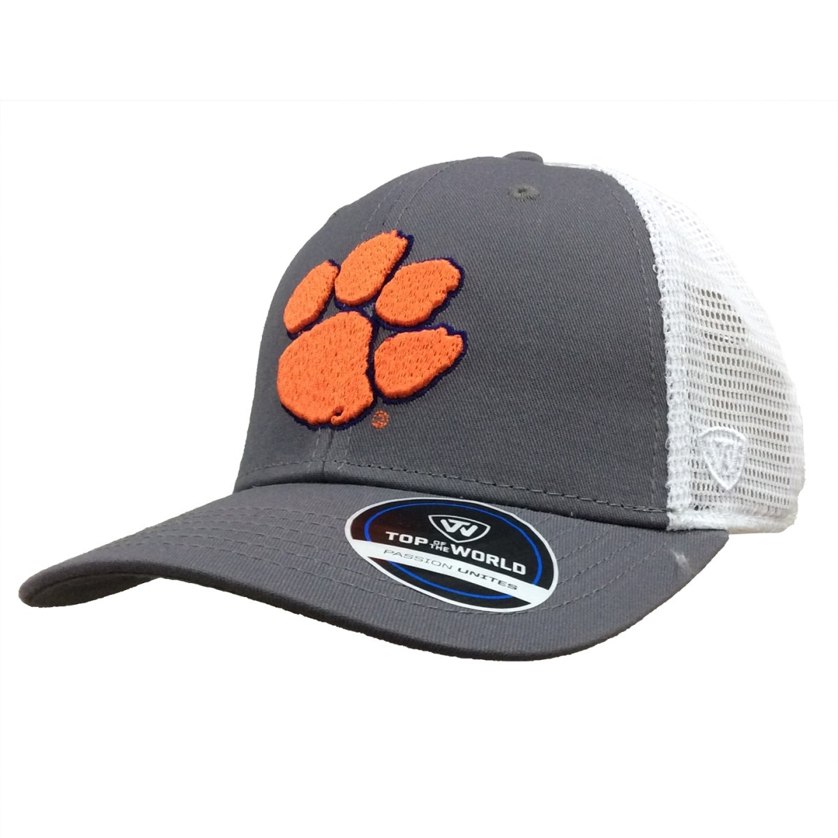 Top of the World Clemson Tigers Bb Adjustable Trucker Hat - Mr. Knickerbocker