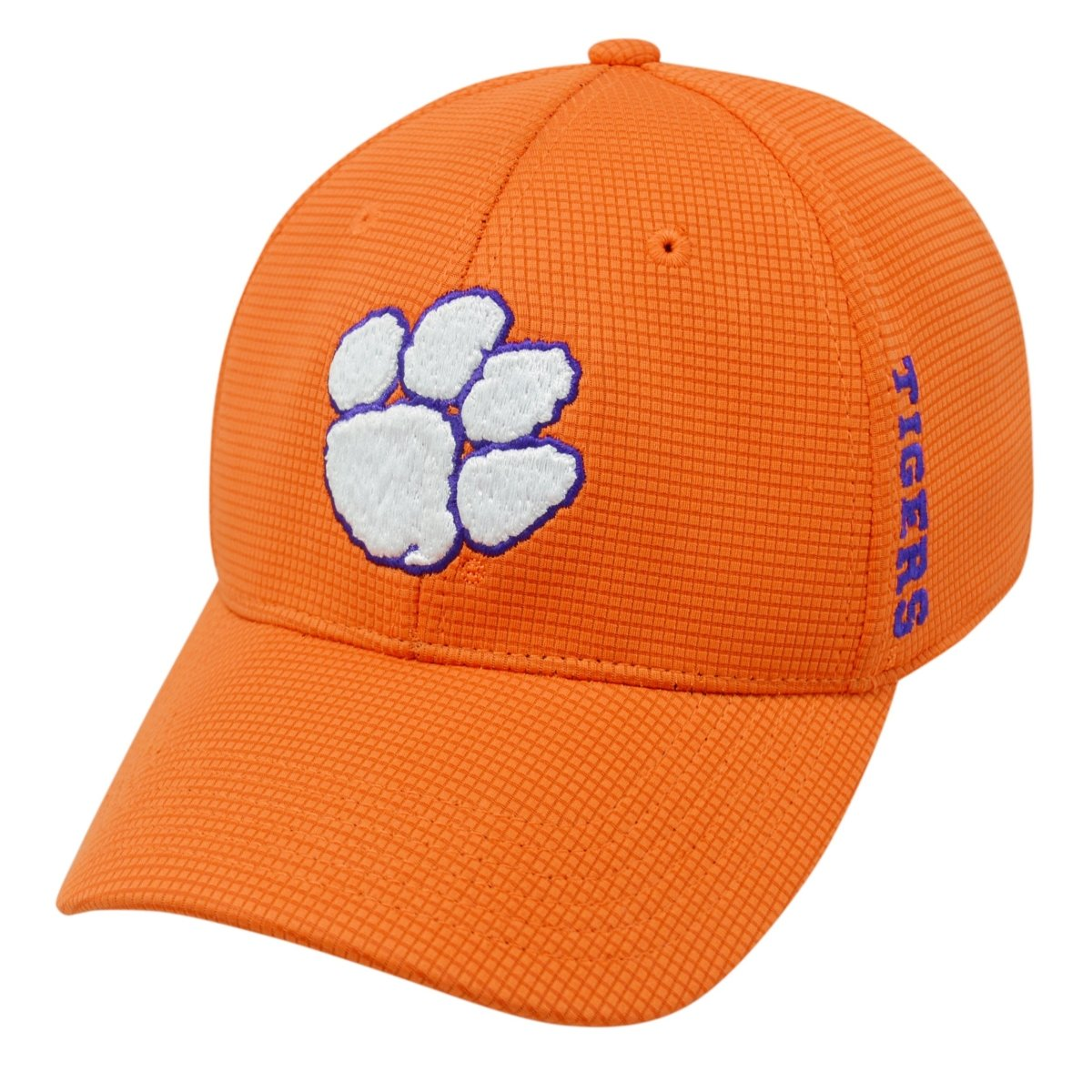 Top of the World Clemson Tigers Booster Fitted Hat - Mr. Knickerbocker