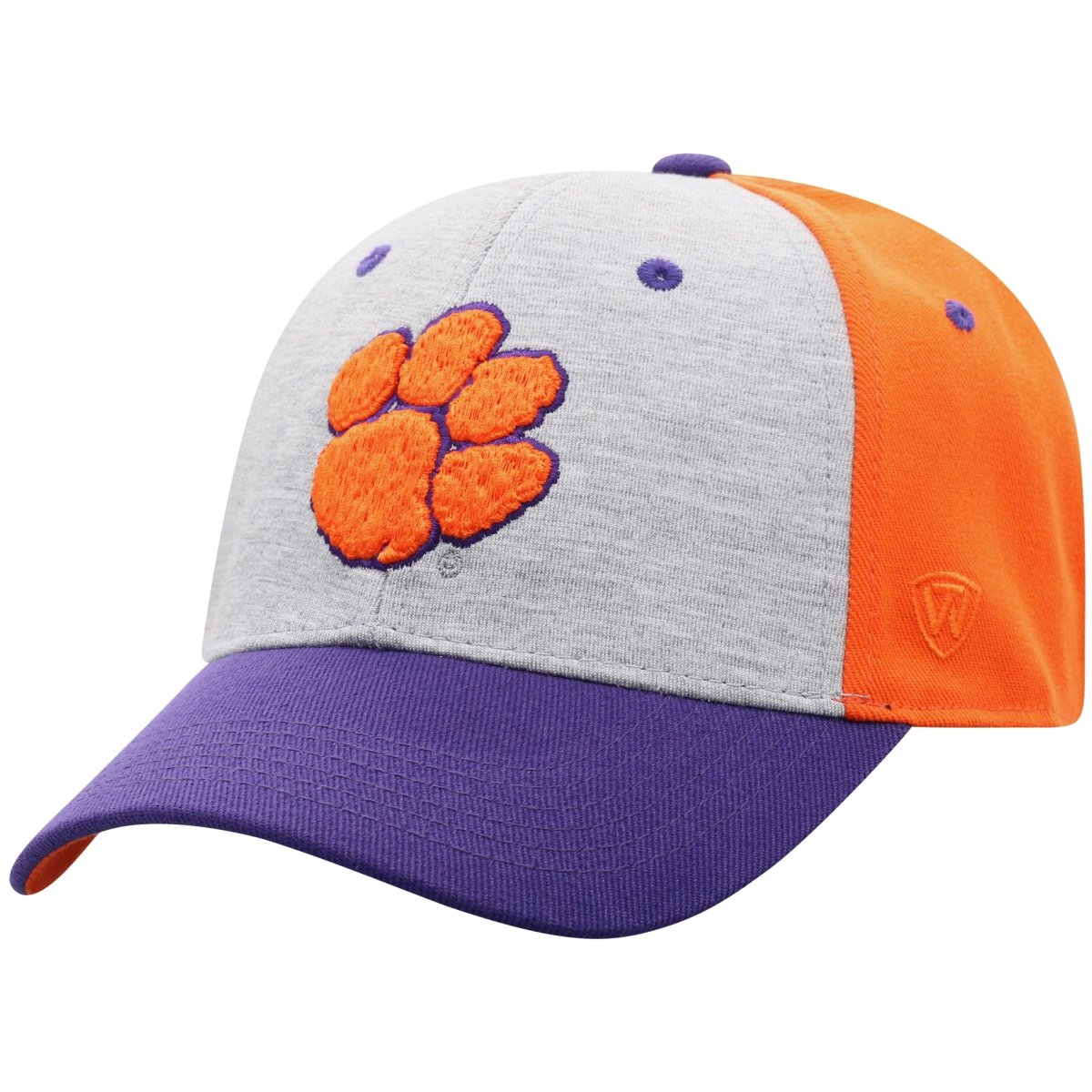 Top of the World Clemson Tigers Bring It Colorblock Hat - Mr. Knickerbocker