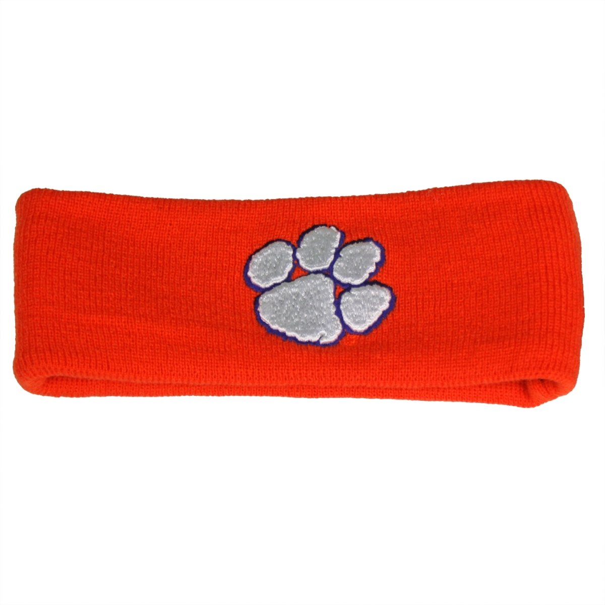 Top of the World Clemson Tigers Headband With White Paw - Mr. Knickerbocker