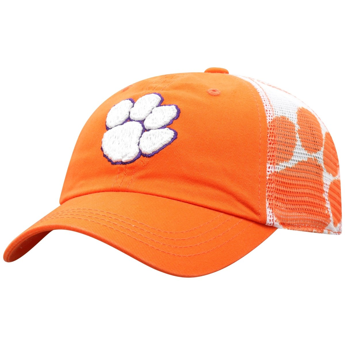 Top of the World Clemson Tigers Holla Mesh Panel Adjustable Hat - Mr. Knickerbocker