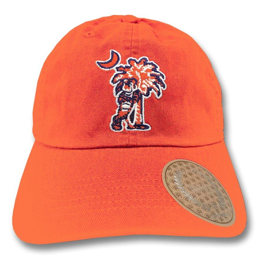 Top of the World Clemson Tigers Leaning Tiger Dad Hat - Mr. Knickerbocker