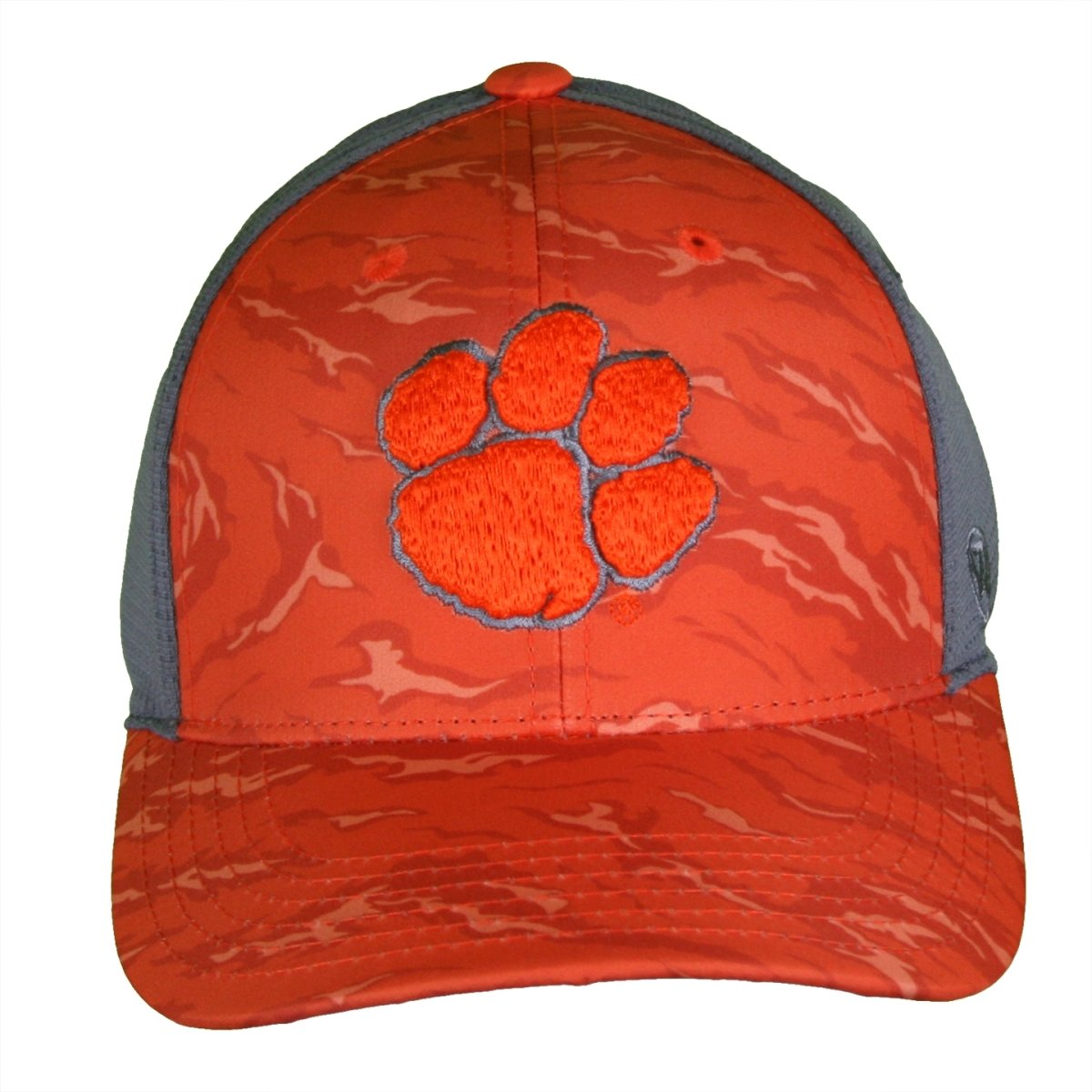 Top of the World Clemson Tigers Orange Camo Fitted Hat - Mr. Knickerbocker