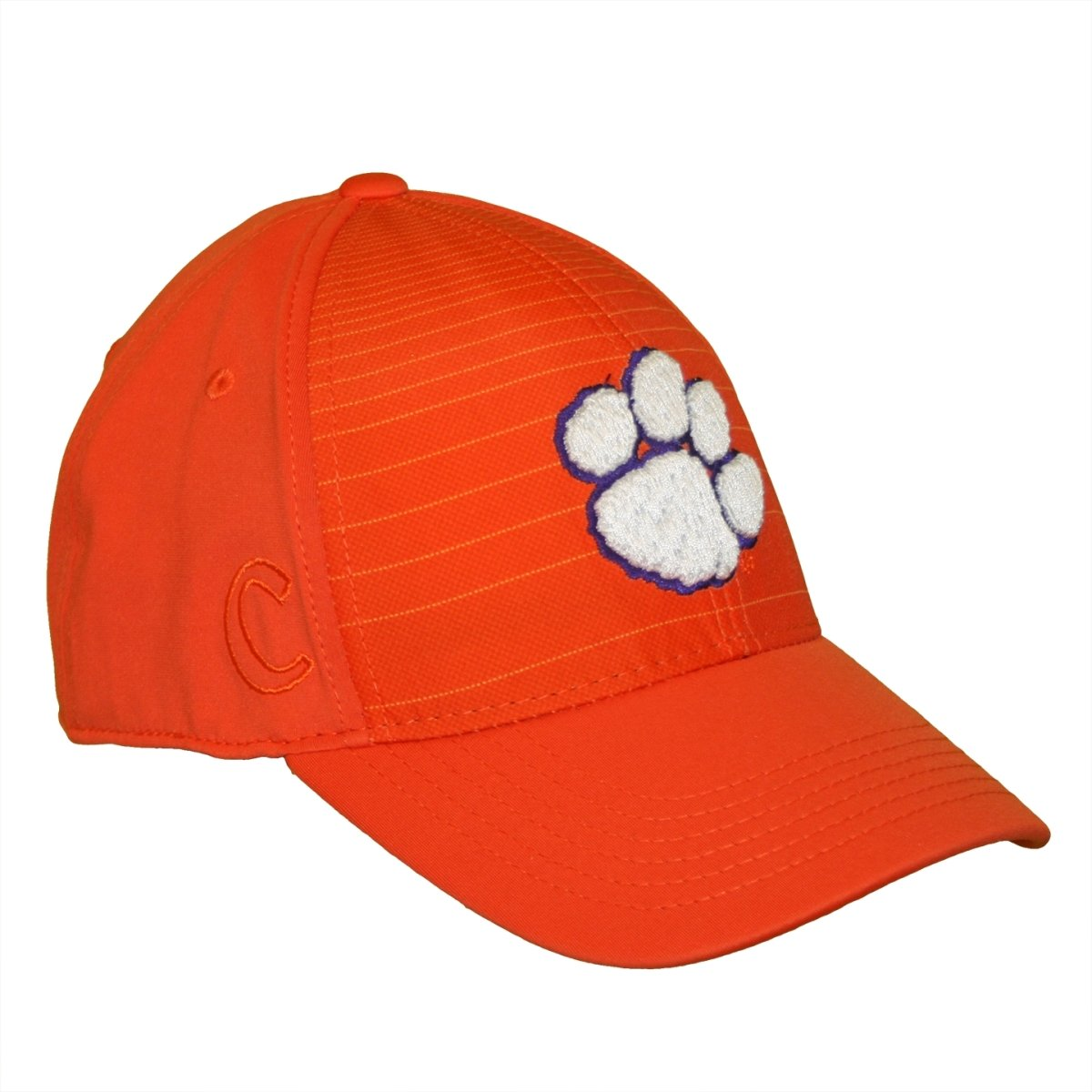 Top of the World Clemson Tigers Striped Flex Fit Cap - Mr. Knickerbocker