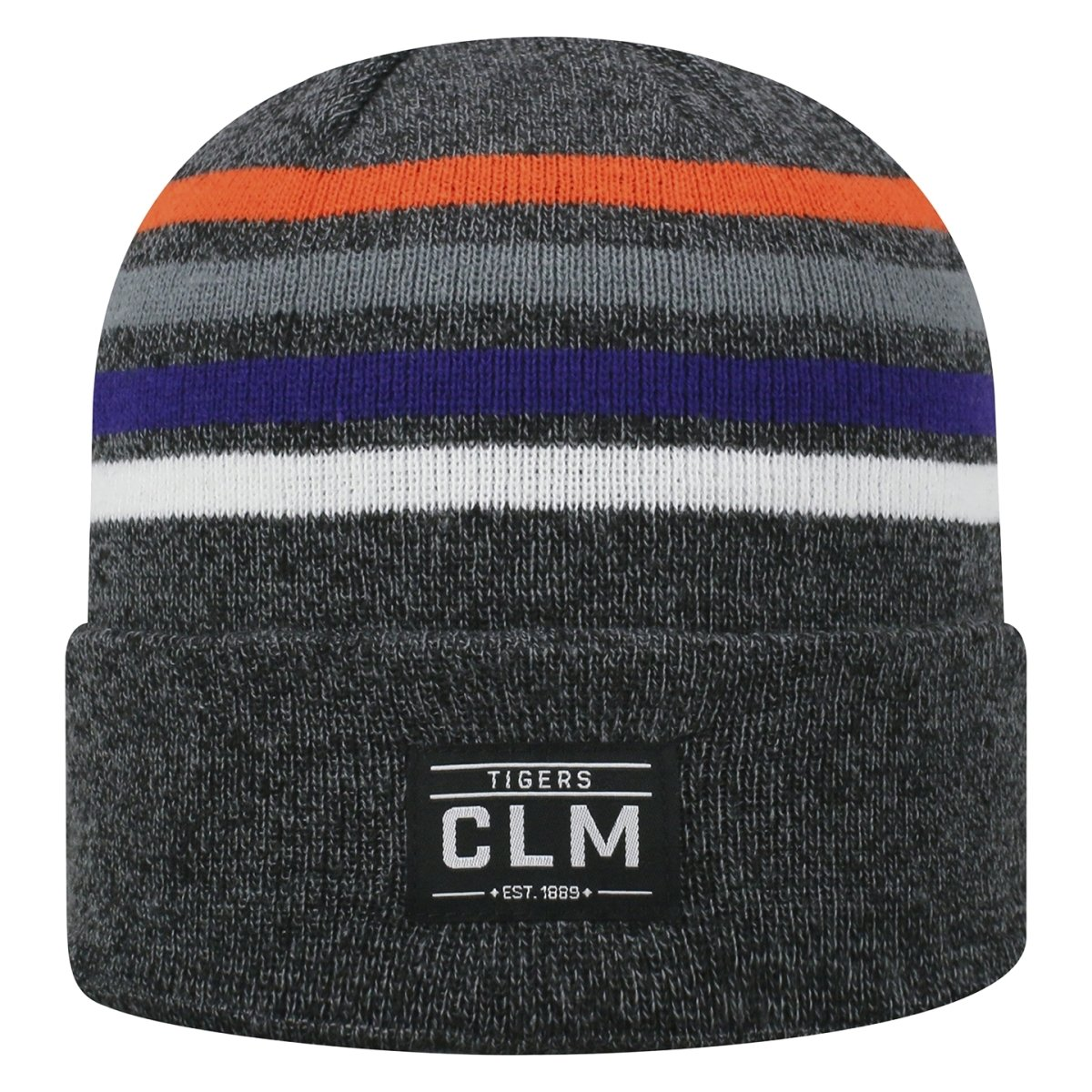 Top of the World Clemson Upland Knit Beanie - Mr. Knickerbocker