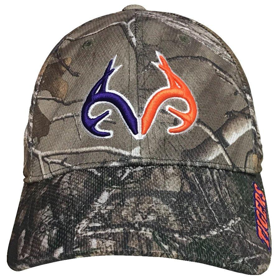 Top of the World Clemson X Realtree Woodland Camo Trucker Hat - Mr. Knickerbocker